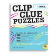 Clip Clue Puzzles Level B - Puzzle Book By Mindware