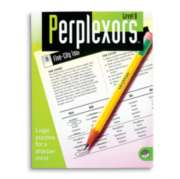 Perplexors Level B - Puzzle Book By Mindware