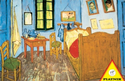 Van Gogh: Bedroom at Arles - 1000pc Jigsaw Puzzle by Piatnik