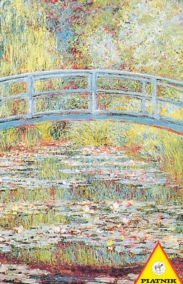 Monet: Japanese Bridge - 1000pc Jigsaw Puzzle by Piatnik