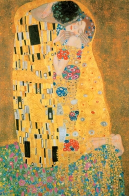 Hard Jigsaw Puzzles - Gustav Klimt: The Kiss