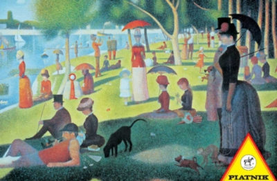 Hard Jigsaw Puzzles - Seurat: Sunday Afternoon