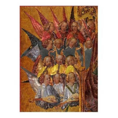 Angel Choir - 500pc Metallic Jigsaw Puzzle by Piatnik