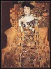 Gustav Klimt: Adelle - 1000pc Metallic Jigsaw Puzzle by Piatnik