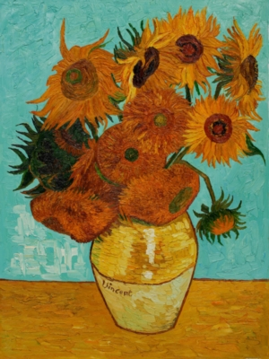 Vase with Sunflowers - 1000pc Jigsaw Puzzle by Piatnik