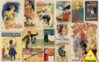 Vintage Posters - 1000pc Jigsaw Puzzle by Piatnik