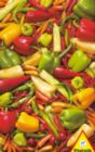 Peppers & Chilis - 1000pc Hard Jigsaw Puzzle by Piatnik