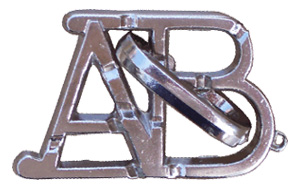 ABC - Metal Disentanglement Puzzle