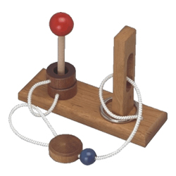 The Big Tease - Wood Disentanglement Puzzle