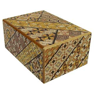4 Sun, 10 Step: Koyosegi - Japanese Puzzle Box