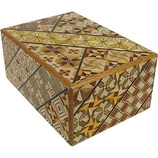 4 Sun, 12 Step: Koyosegi - Japanese Puzzle Box