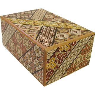 5 Sun, 10 Step: Koyosegi - Japanese Puzzle Box
