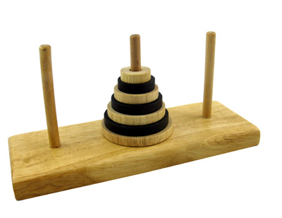 Brain Teasers - Tower of Hanoi