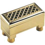 Brass Treasure Chest - Brain Teaser