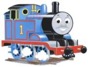 Thomas & Friends: Thomas Shaped 24pc Floor Puzzle by Ravensburger