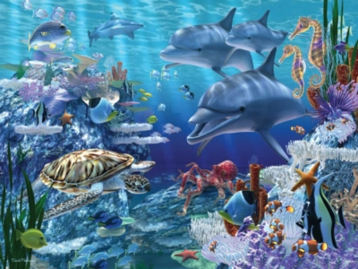 Floor Jigsaw Puzzles For Kids - Sea Life