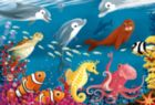 Ocean Life - 24pc Floor Puzzle by Ravensburger