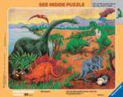 Dinosaurs - 33pc Frame Puzzle by Ravensburger