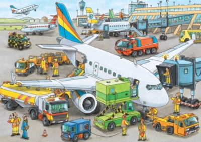 Busy Airport - 35pc Jigsaw Puzzle by Ravensburger