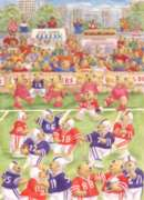 Football Bears - 35pc Jigsaw Puzzle by Ravensburger