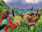 Pirates' Treasure - 100pc Jigsaw Puzzle by Ravensburger