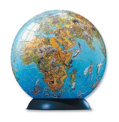 World Globe - 240pc Puzzleball by Ravensburger