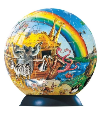 Noah's Ark - 96pc Puzzleball by Ravensburger