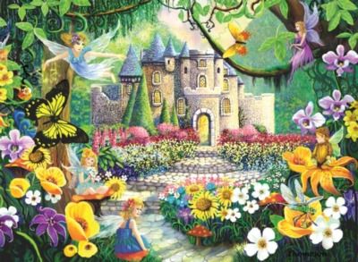 Castle Fantasy - 200pc Jigsaw Puzzle by Ravensburger