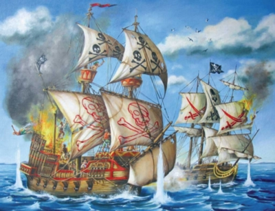 Pirate Ship - 200pc Jigsaw Puzzle by Ravensburger