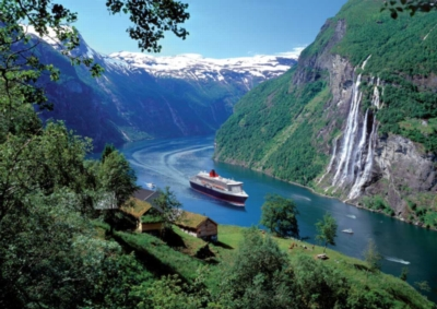Norwegian Fjord - 1000pc Jigsaw Puzzle by Ravensburger