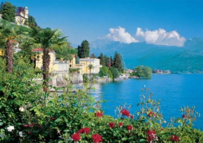 Lake Maggiore, Italy - 1500pc Jigsaw Puzzle by Ravensburger