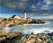 Portland Head Lighthouse - 1000pc Jigsaw Puzzle by Springbok