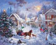 Springbok Jigsaw Puzzles - Night Before Christmas