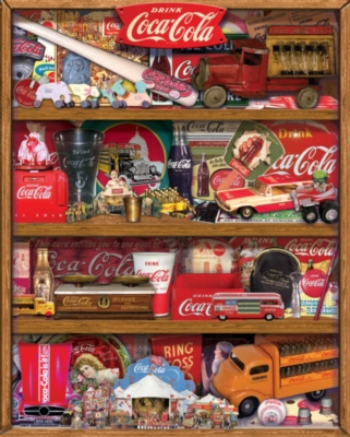 Coca-Cola: The Collection - 1500pc Springbok Jigsaw Puzzle