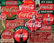 Coca-Cola: Classic Signs - 2000pc Springbok Jigsaw Puzzle