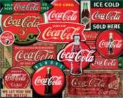 Coca-Cola Puzzles - Classic Signs