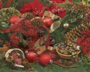 Hard Jigsaw Puzzles - Colors of Christmas