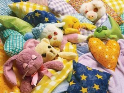 Sleepover - 400pc Family Style Springbok Jigsaw Puzzle