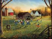 Serendipity Jigsaw Puzzles - Halftime In The Heartland