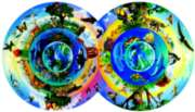 Biodiversity - 800pc Double Round Jigsaw Puzzle by Serendipity