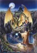 Release Of The Dragon - 1000pc Jigsaw Puzzle by Serendipity