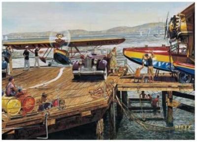 Serendipity Jigsaw Puzzles - Catalina Landing