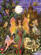 Tree Fairies - 1000pc Jigsaw Puzzle by Serendipity