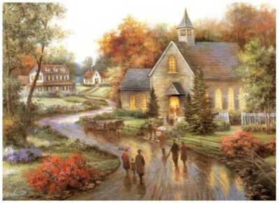 Autumn's Blessing - 1500pc Jigsaw Puzzle by Serendipity