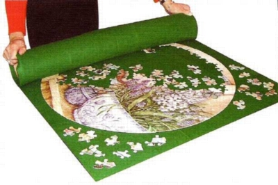 Puzzle Roll Away Mat - Jigsaw Puzzle Accessory