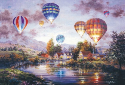 Large Jigsaw Puzzles - Balloon Glow