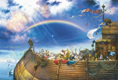 Noah's Ark - 6000pc Sunsout Jigsaw Puzzle