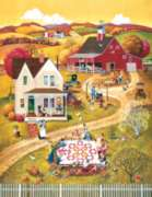 The Quilting Bee - 1000pc Large Format Jigsaw Puzzle by Sunsout