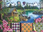 Floating Over Sisters - 1000pc Jigsaw Puzzle by Sunsout