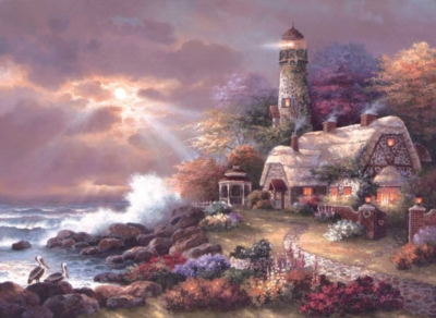 Jigsaw Puzzles - Heaven's Light